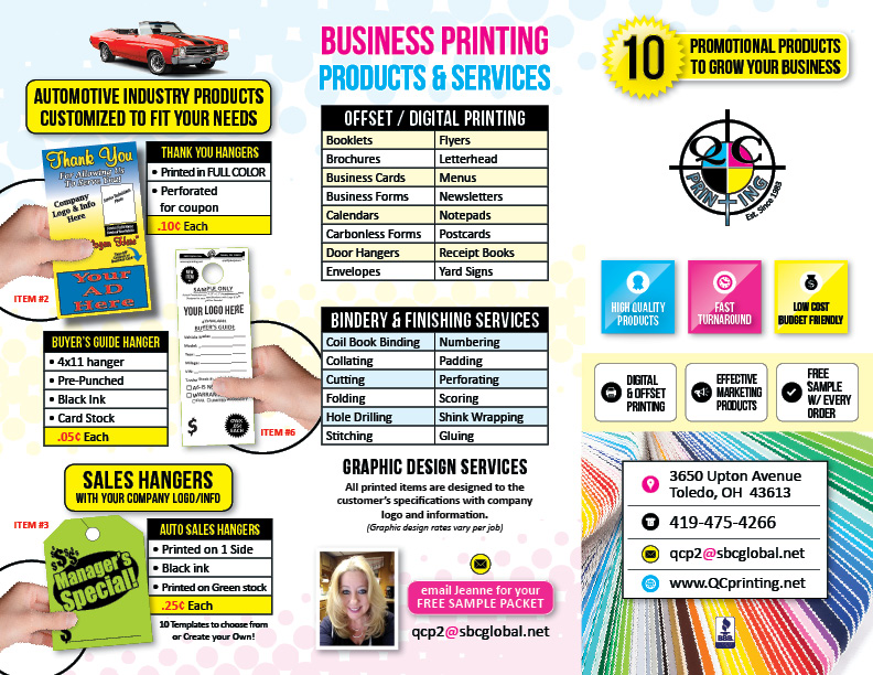 Sample Pre Brochure | Brochure Qc Printing